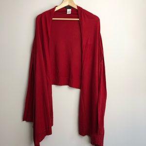 BCBGMaxAzria Cashmere Wrap Cardigan Sweater
